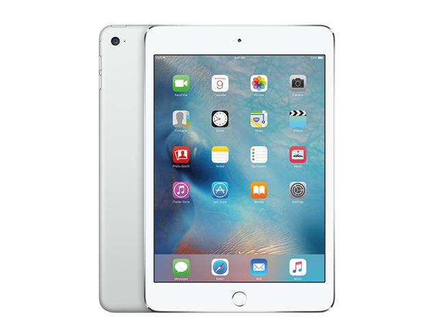 iPad mini4 Wi-Fi+Cellular 128GB MK772J/A Silver au版