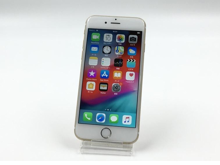 iPhone 6s 16GB Gold MKQL2J/A au版