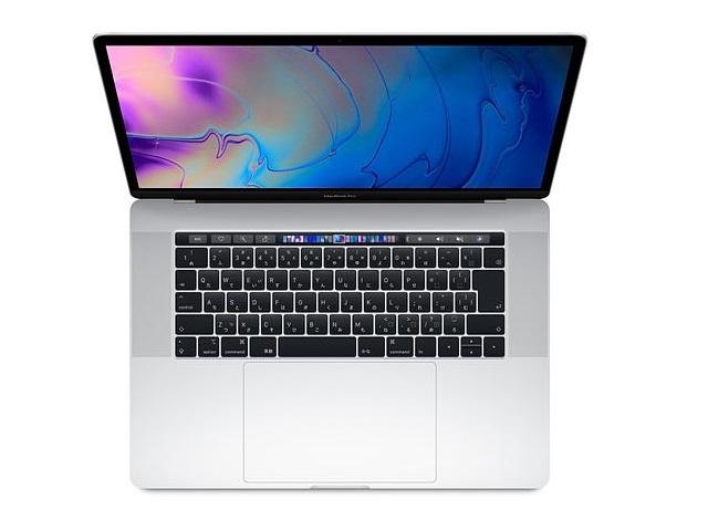 MacBook Pro Core i7 3.1GHz 15インチ(TouchBarモデル) Silver