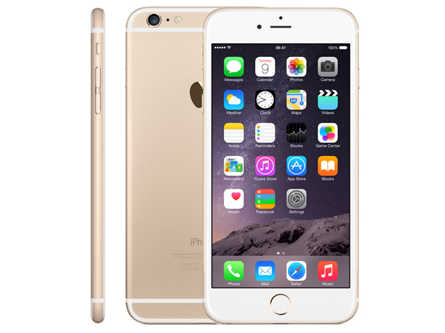 iPhone 6 16GB Gold MG492J/A au版