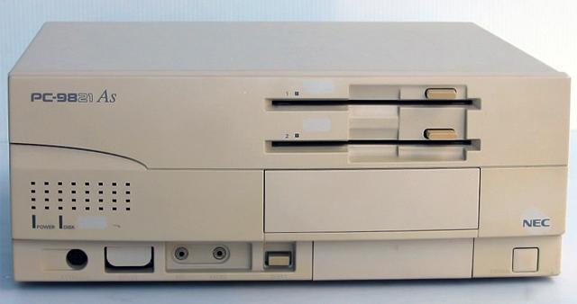 98デスクトップ販売 PC-9821As/M2 NEC
