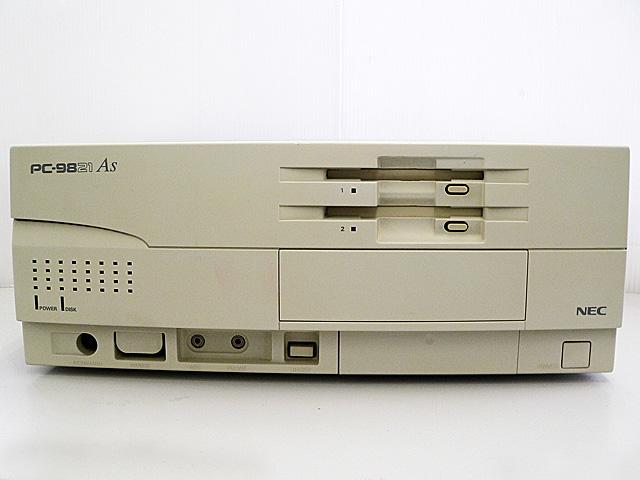 98デスクトップ販売 PC-9821As/U2 NEC