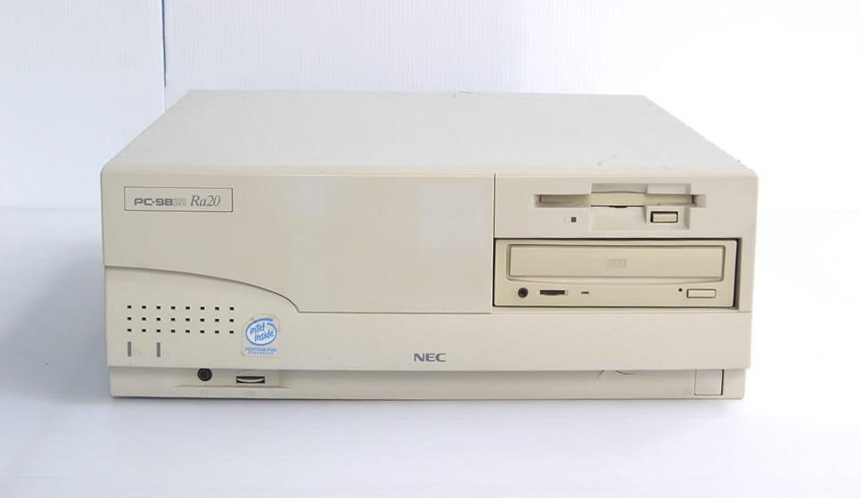 98デスクトップ販売 PC-9821Ra20/N12 NEC
