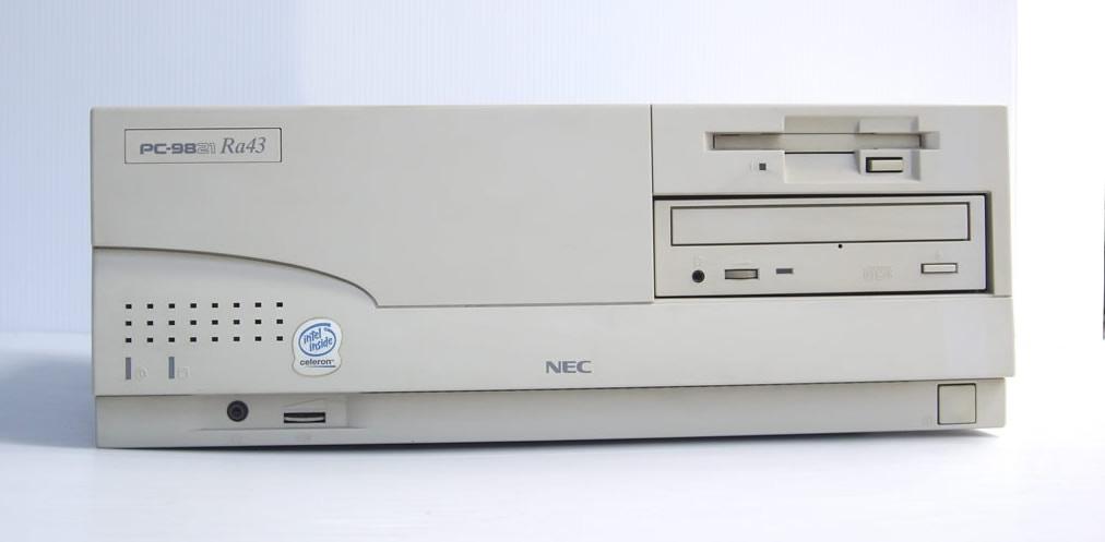 98デスクトップ販売 PC-9821Ra43 NEC