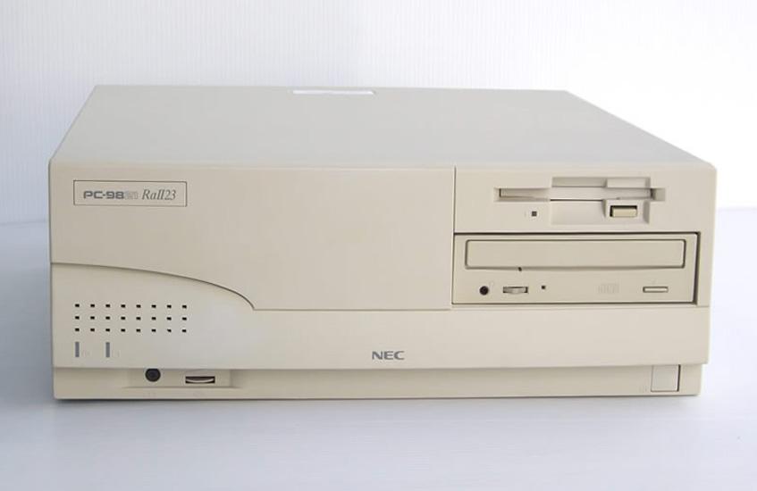 98デスクトップ販売 PC-9821RaII 23 NEC