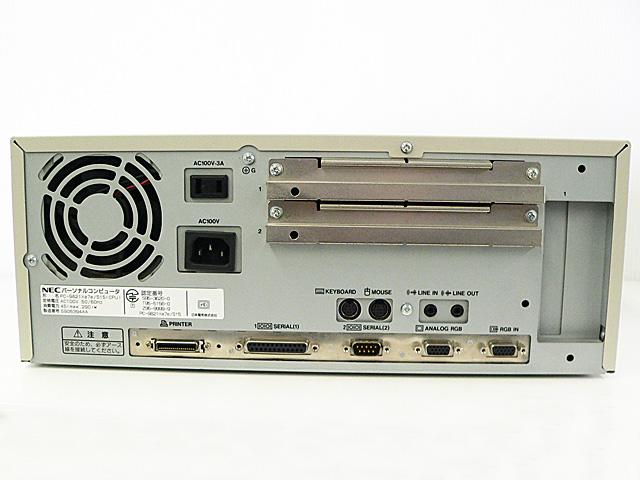 98デスクトップ販売 PC-9821Xa7e NEC