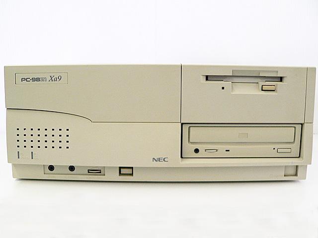 98デスクトップ販売 PC-9821Xa9/C8 NEC