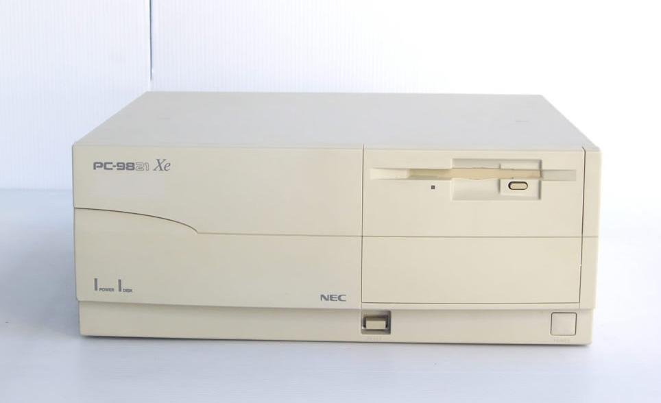 98デスクトップ販売 PC-9821Xe/U7W NEC