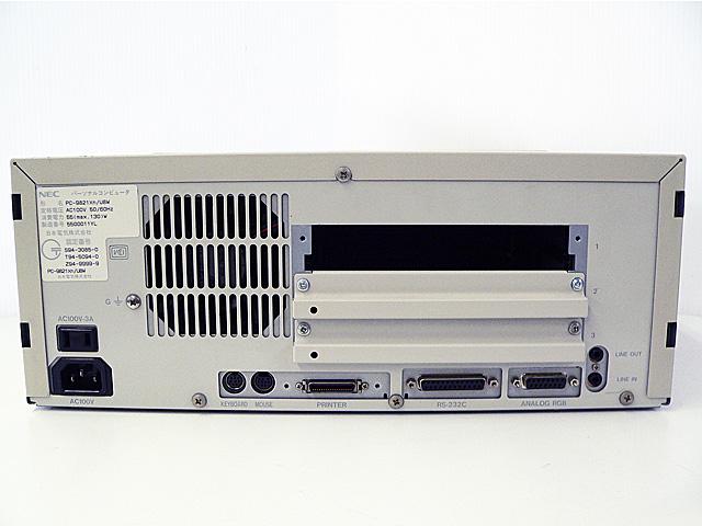 98デスクトップ販売 PC-9821Xn/U8W NEC