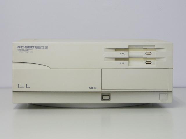 98デスクトップ販売 PC-9801BA2/U2 NEC