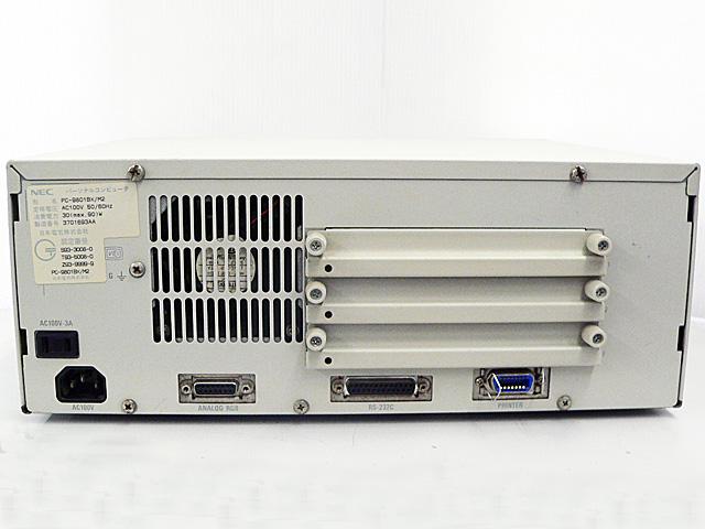 98デスクトップ販売 PC-9801BX/M2 NEC