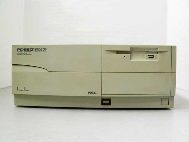 98デスクトップ販売 PC-9801BX2/U7 NEC
