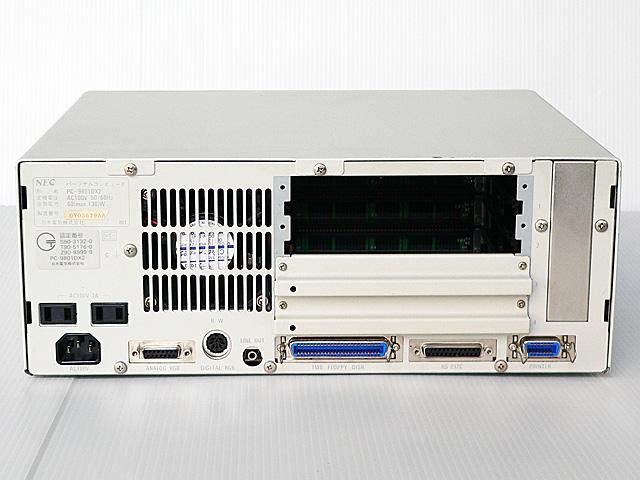 98デスクトップ販売 PC-9801DX2 NEC