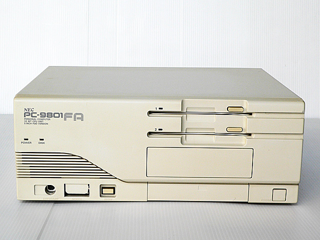 98デスクトップ販売 PC-9801FA2 NEC
