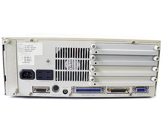 98デスクトップ販売 PC-9801FS2 NEC