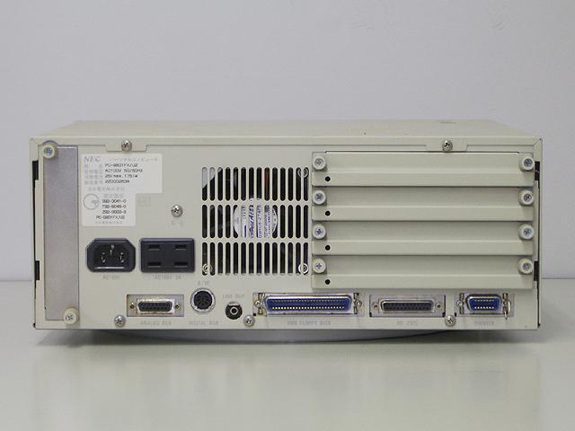 98デスクトップ販売 PC-9801FX/U2 NEC