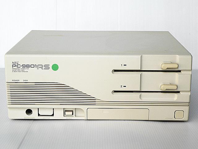 98デスクトップ販売 PC-9801RS21 NEC