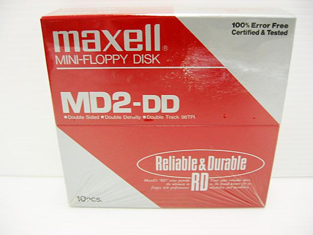 5インチ 2DD フロッピーディスク(10枚組)