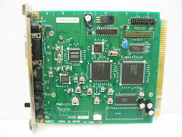 98ボード類販売 PC-9801-118 NEC