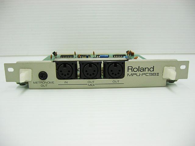 98ボード類販売 MPU-PC98II Roland