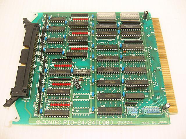制御ボード販売 PIO-24/24T(98) CONTEC