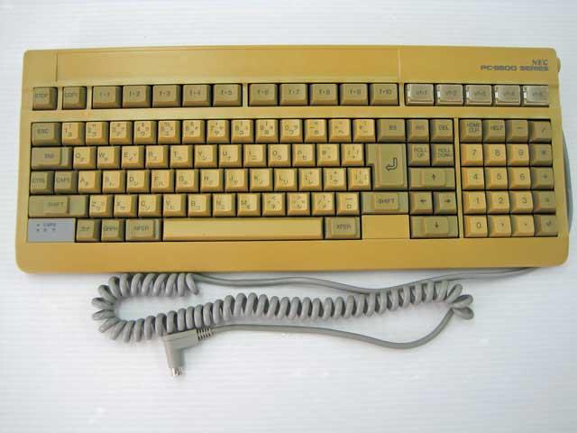 98周辺機器販売 PC98対応キーボード(接続口 L 型) NEC