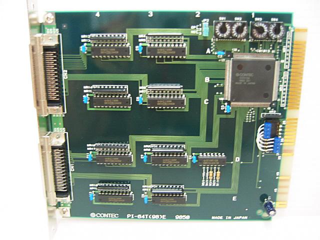 制御ボード販売 PI-64T(98)E CONTEC