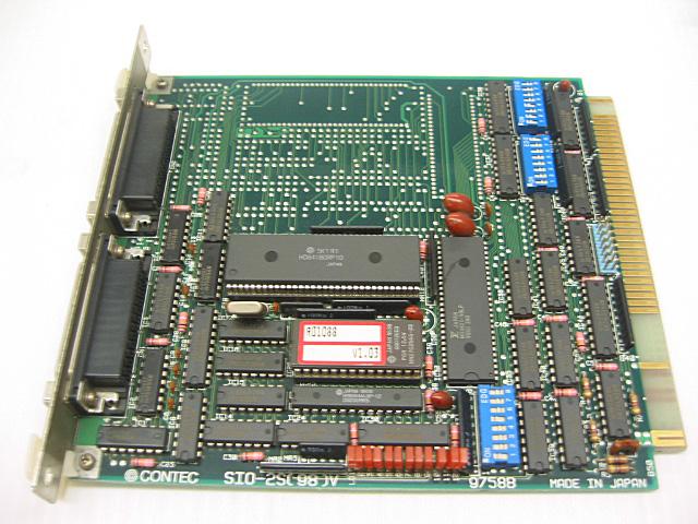 制御ボード販売 SIO-2S(98)V CONTEC
