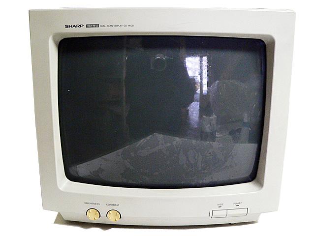 98モニタ販売 CU-14CD SHARP