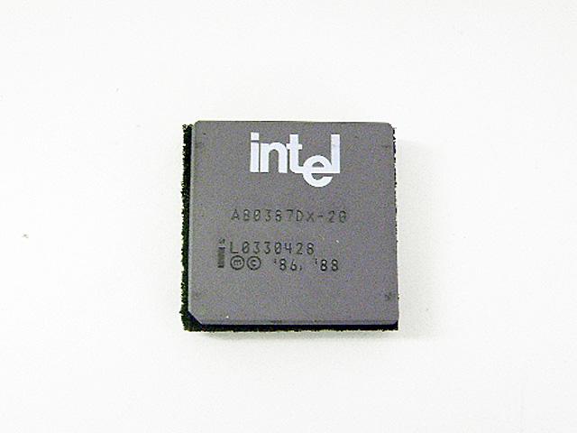 98パーツ販売 80387DX-20 Intel
