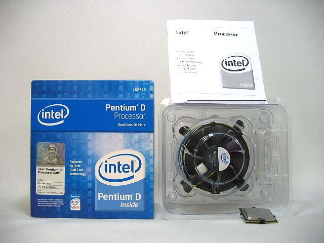 CPU PentiumD 820