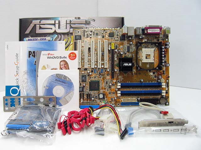P4C800-E Deluxe マザーボード