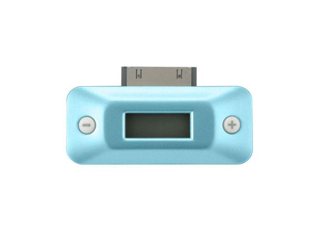 iPod用FMトランスミッター ブルー GH-FT-IPOD3NB