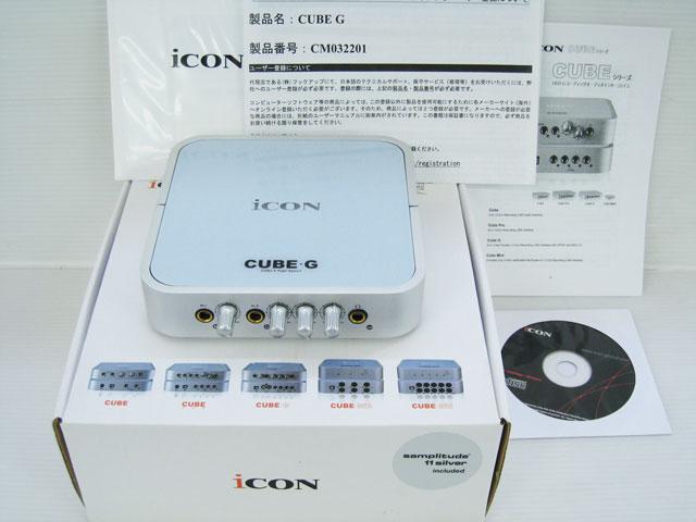 iCON CUBE G USBオーディオインターフェース