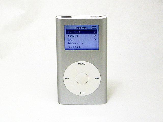 中古iPod販売 iPod mini 4GB シルバー 第1世代 M9160J/A Apple