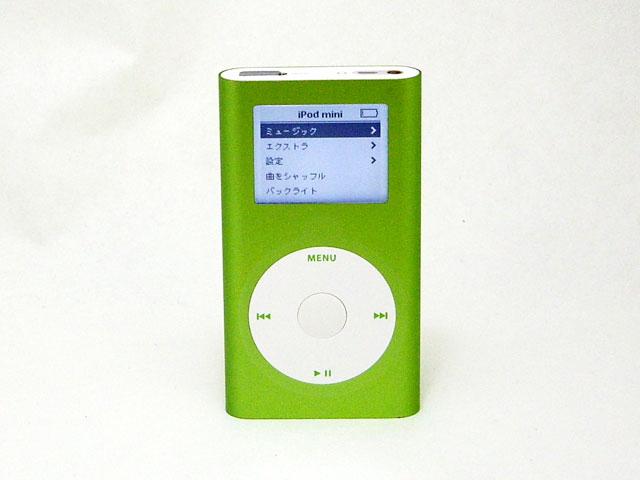 中古iPod販売 iPod mini 4GB グリーン 第2世代 M9806J/A Apple