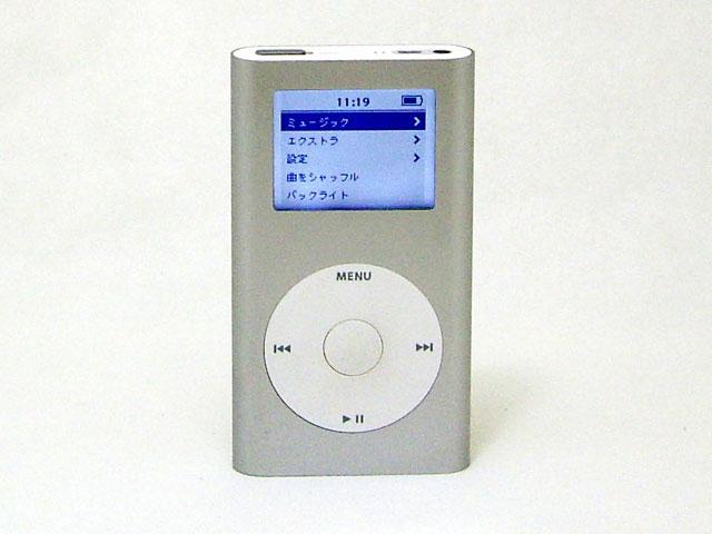中古iPod販売 iPod mini  6GB シルバー 第2世代 M9801J/A Apple
