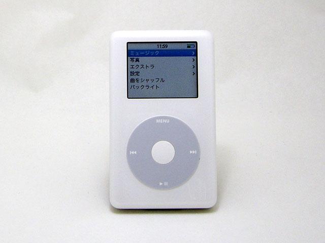 iPod photo 30GB 第4世代 M9829J/A
