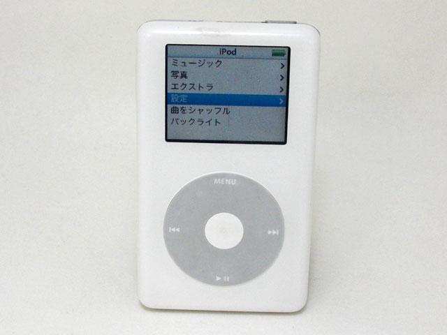 iPod 20GB 第4世代 MA079J/A
