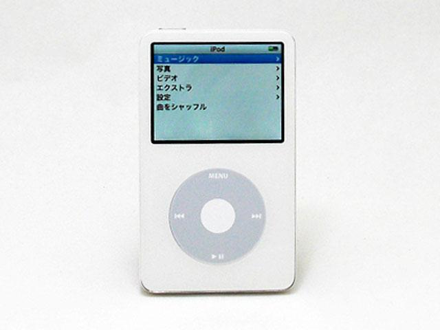 iPod 30GB ホワイト 第5世代 MA002J/A