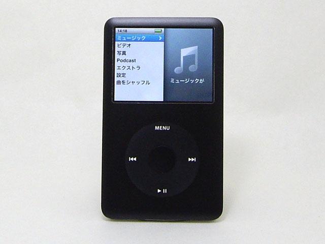 iPod classic 80GB ブラック 第6世代 MB147J/A