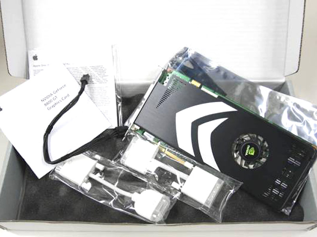 NVIDIA GeForce 8800 GT Graphics Upgrade Kit for Mac Pro (1st Generation)