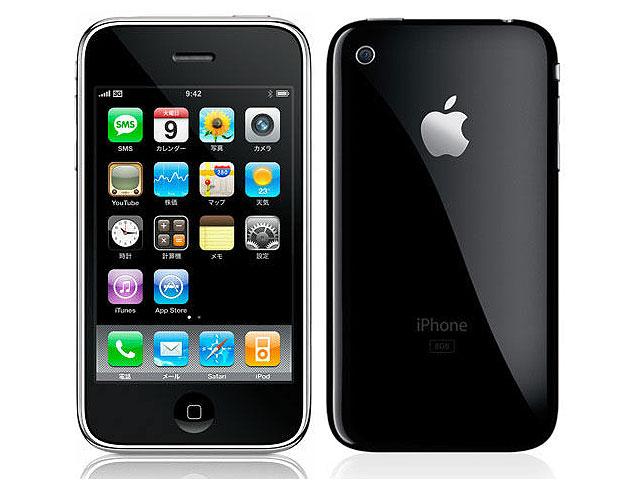 iPhone 3G 16GB Black MB496J/A ソフトバンク版