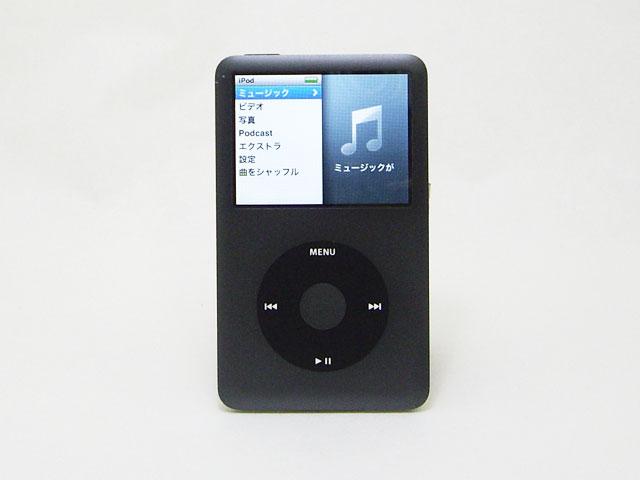 中古iPod販売 iPod classic 120GB ブラック 第6.5世代 MB565J/A Apple