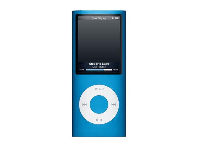 iPod nano 8GB ブルー 第4世代 MB732J/A