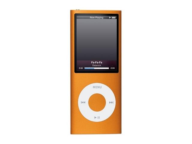 iPod nano 8GB オレンジ 第4世代 MB742J/A