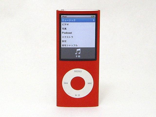 iPod nano 8GB レッド 第4世代 MB751J/A