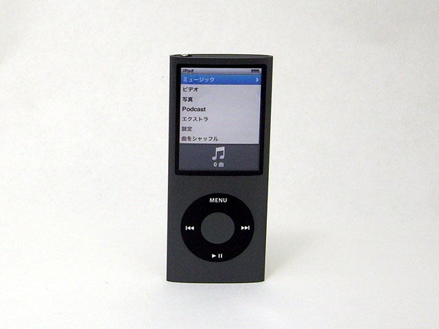 iPod nano 8GB ブラック 第4世代 MB754J/A
