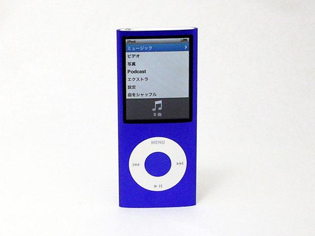 中古iPod販売 iPod nano 16GB パープル 第4世代 MB909J/A Apple