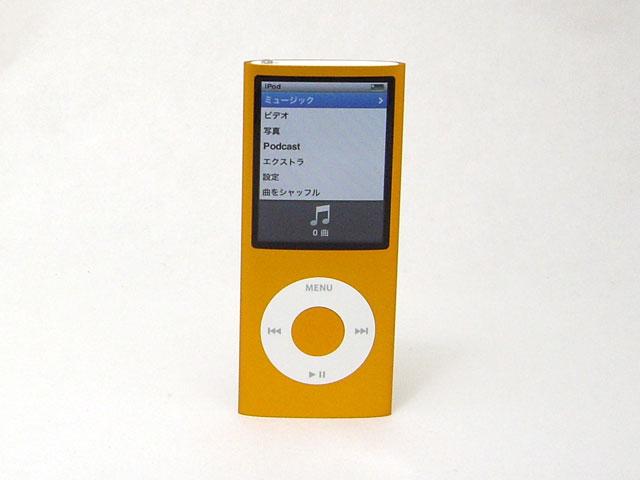 iPod nano 16GB オレンジ 第4世代 MB911J/A